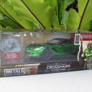 JADA 1/24 Movie Car TRANSFORMERS 5 CROSSHAIRS 2016 CHEVROLET CORVETTE STINGRAY