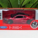 Welly NEX 1/34-1/39 Die cast Car Honda NSX 2015  RED (11cm)