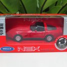 Welly NEX 1-38 (11cm) Die cast  1982 Chevrolet Corvette Coupe Red