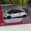 "Kinsmart (5"") Die cast Car 2016 Pagani Huayra BC (1/38) White Supercar"