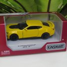 "Kinsmart (5"") Die cast  Car 2017 Chevrolet Camaro ZL1 Yellow Super Car (1/38)"