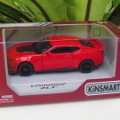 "Kinsmart (5"") Die cast  Car 2017 Chevrolet Camaro ZL1 Red Super Car (1/38)"