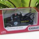 "Kinsmart (5"") Die cast  Car 1953 Chevrolet 3100 Wrecker Tow Truck Black (1/38)"