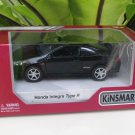"Kinsmart (5"") Die cast  Car Honda Integra DC5 Type R 2002 Super Car Black (1/34)"