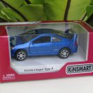 "Kinsmart (5"") Die cast  Car Honda Integra DC5 Type R 2002 Super Car Blue (1/34)"