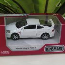 "Kinsmart (5"") Die cast  Car Honda Integra DC5 Type R 2002 Super Car White (1/34)"
