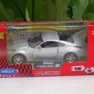 Welly (11cm) Die cast Car Nissan Fairlady Z 2003 Silver Sports Car (1/38)