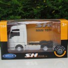 Welly 1-64  Die Cast Model MAN TGX (6x4) 6 WHEEL TRACTOR UNIT TRUCK White (10cm)