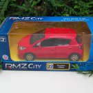 "RMZ / DSM 5"" Die cast Model Car #22 Toyota Yaris 2013 (Red)"
