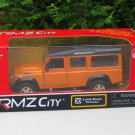 "RMZ DSM 5"" Die cast Model #30 Land Rover Defender 110 Orange"