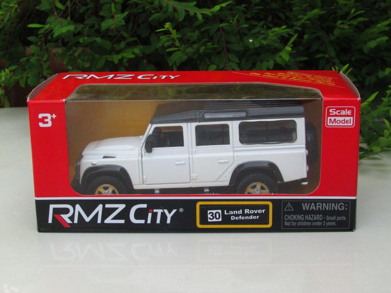 "RMZ DSM 5"" Die cast Model #30 Land Rover Defender 110 White"