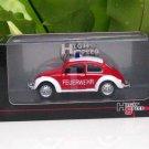 High Speed 1/43 Diecast VW Volkswagen Beetle Kafer FEUERWEHR Red Classics Car