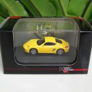 High Speed 1/87 Diecast Car Model Porsche Cayman S Yellow (5cm)