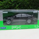 Welly 1/24 Diecast Car 2010 JAGUAR XJ Sedan Black