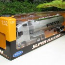Welly 1/32 SUPER HAULIER Diecast Car VOLVO Truck Volvo FH12 Oil Tanker Truck