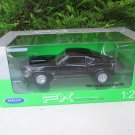Welly 1/24 Diecast Car 1969 FORD Mustang Boss 429 Black Classics Sports Car