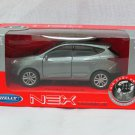 Welly NEX (11 cm) Die cast Model Car Hyundai IX35 Tucson SUV 2013 (Grey) 1-38
