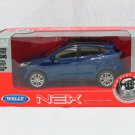 Welly NEX (11 cm) Die cast Model Car Hyundai IX35 Tucson SUV 2013 (Blue) 1-38