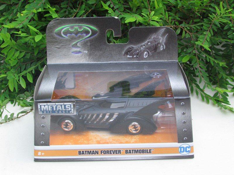 Jada 1/32 Diecast Movie Car BATMAN 1995 Batman Forever Batmobile Black
