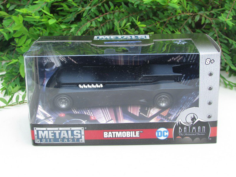 Jada 1/32 Diecast Car BATMAN The Animated Series BATMOBILE Black DC Comics