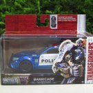 JADA 1/32 Movie Car TRANSFORMERS 5(2005) Ford Saleen Mustang BARRICADE (Police)