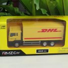 RMZ City 1/64 Diecast Car MAN TGS 18.400 - Truck DHL Delivery Transport Truck