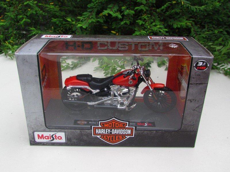 Maisto 1/18 Diecast Motorcycles Harley-Davidson 2016 BREAKOUT Red Bike