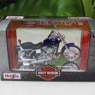 Maisto 1/18 Diecast Motorcycles Harley-Davidson 2001 FXDWG Dyna Wide Glide