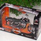 Maisto 1/12 Motorcycle Harley Davidson 2006 FXDBI Dyna Street Bob Dark Blue