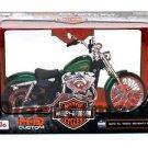 Maisto 1/12 Diecast Motorcycle Harley Davidson 2013 XL 1200V SEVENTY-TWO Green
