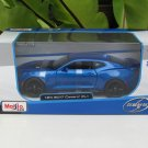 Maisto 1/24 Special Edition Diecast Car Chevrolet Camaro ZL1 2017 Blue