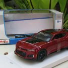 Maisto 1/24 Special Edition Diecast Car Chevrolet Camaro ZL1 2017 Red