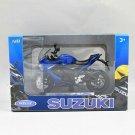 Welly 1/18 Diecast Motorcycle SUZUKI GSX-S1000F 2017 Sports Bike (Blue)