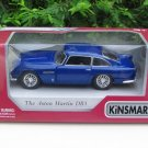 "Kinsmart (5"") Diecast Car Aston Martin DB5 (1964) Blue Classics Car (1/38)"