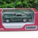 "Kinsmart (5"") Diecast Car Aston Martin DB5 (1964) Green Classics Car (1/38)"