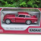 "Kinsmart (5"") Diecast Car Aston Martin DB5 (1964) Red Classics Car (1/38)"