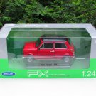 Welly  1/24 Diecast Car Model Mini Cooper 1300 RED