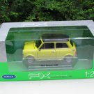 Welly 1/24 Diecast Car Model Mini Cooper 1300 YELLOW
