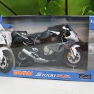Automaxx 1/12 Diecast Motorcycle BMW S1000RR 2014 Gray/Black Super Bike