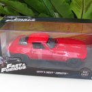 Jada  1-32 Fast & Furious Series -  Letty's 1966 Chevy Corvette C2 Stingray Red