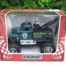 """Kinsmart (5"""") Monster Towing Truck 1953 Chevrolet 3100 Wrecker Tow Truck Green"""