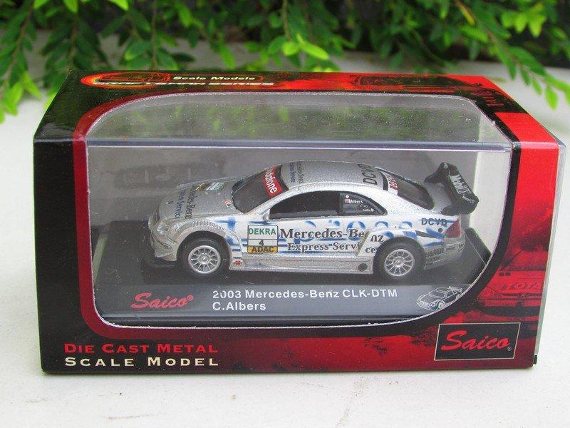 Saico 1/72 Diecast Mercedes CLK DTM 2003 Express Service # 4 Christijan Albers