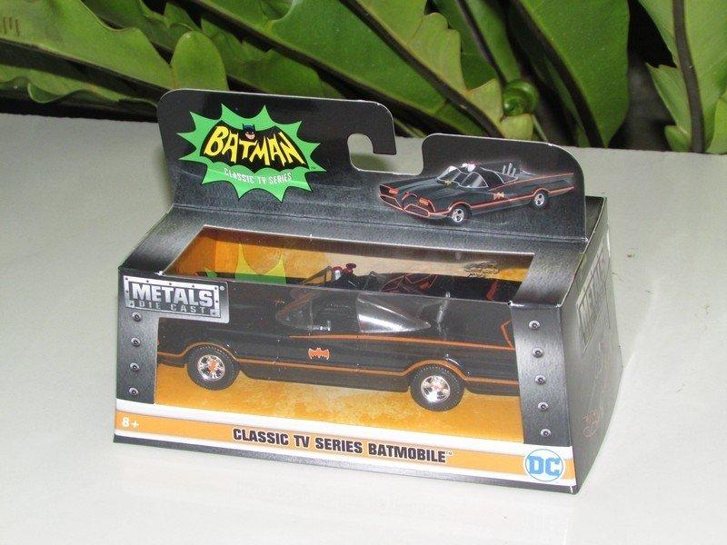 JADA 1/32 Diecast Movie Car DC Comics Batmobile & Batman Classic TV Series 1966