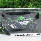 Automaxx 1/12 Diecast Motorcycle Kawasaki Ninja 250 F1 Green Super Bike 2015