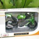 Maisto 1/12 Diecast Motorcycle Kawasaki Ninja ZX10R Superbike 2010 Green