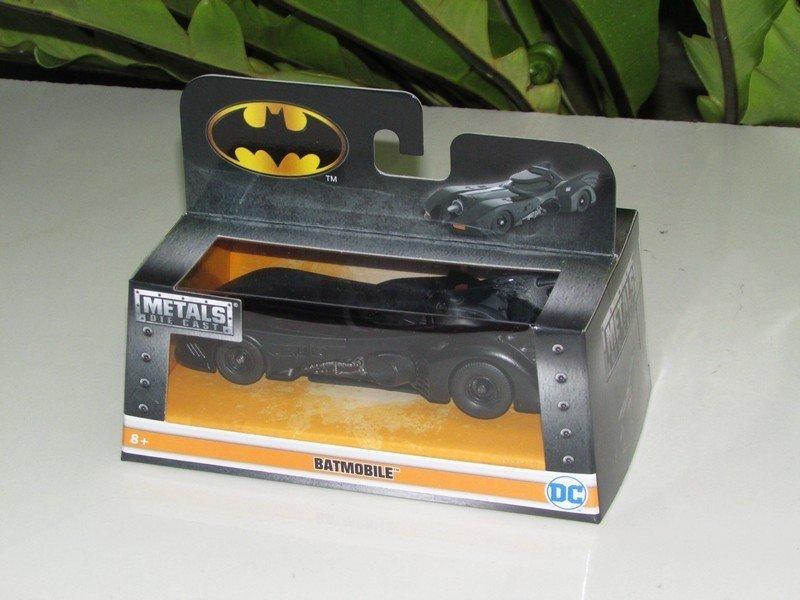 JADA 1/32 Diecast Movie Car DC Comics 1989 Batmobile Michael Keaton Batman car