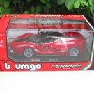 Bburago 1/24 Diecast Car Model Ferrari Racing Ferrari FXX K # 10 Red Sports Car