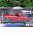 JADA 1/32 Movie Car Fast & Furious Dom's 70 Chevrolet Chevy Chevelle SS 396 Red