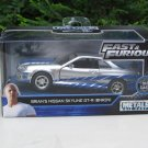 JADA 1/32 Movie Car Fast & Furious Brian's Nissan Skyline GTR (R34) 2002 Silver