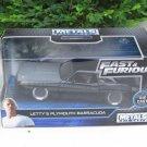 JADA 1/32 Diecast Movie Car Fast & Furious Letty's PLYMOUTH BARRACUDA 1970